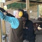Cluny clay pigeon shooting lesson in Fife near Edinburgh