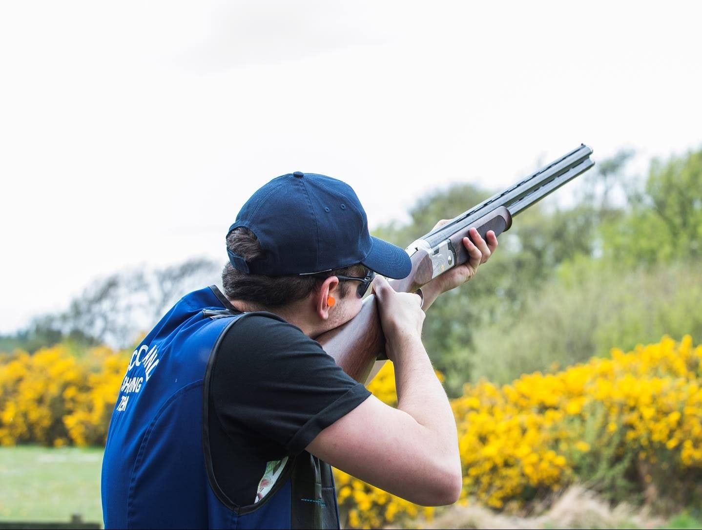 Clay pigeon shooting in Fife