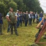 Cluny Clay shooting Club, Fife near Edinburgh