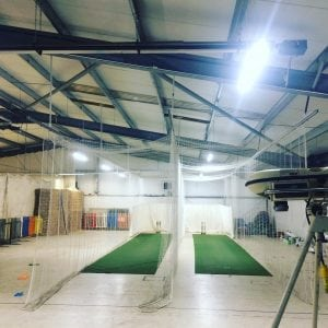Cricket lane hire, Cluny cricket, Fife near Edinburgh
