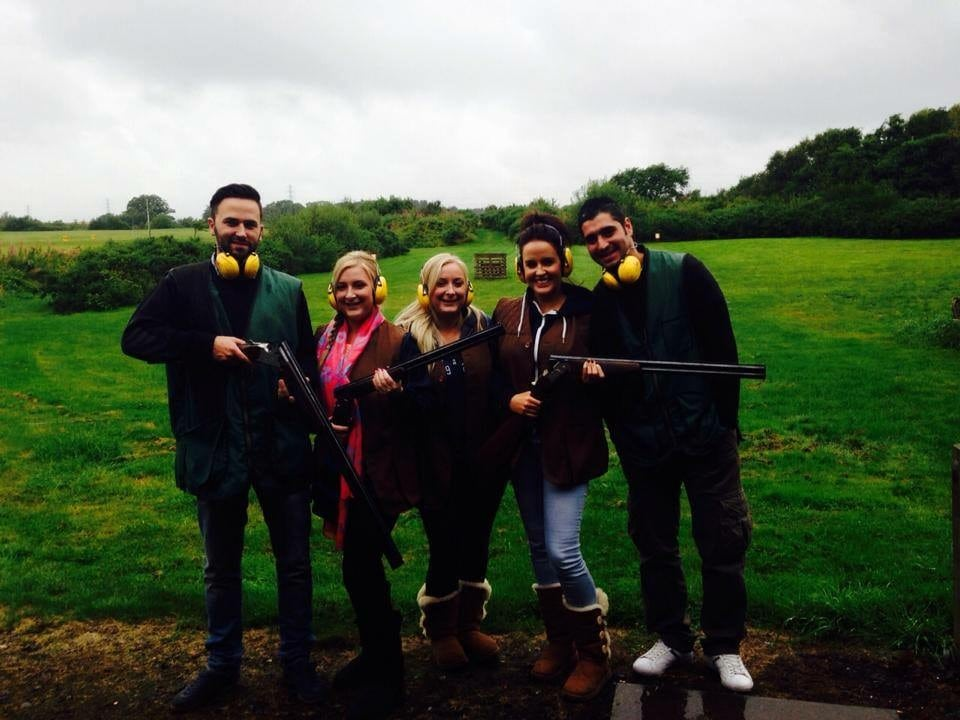 Clay Shooting Starter for 4