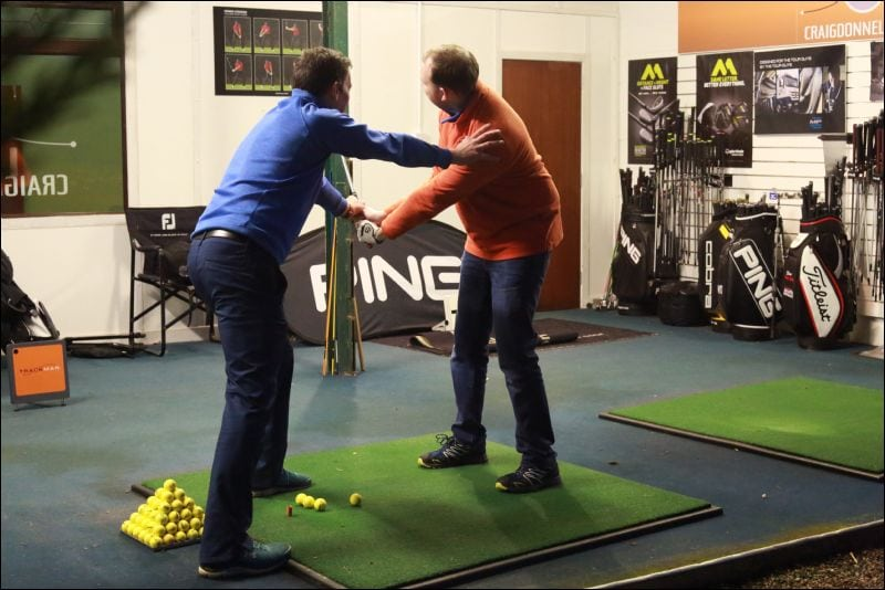 Golf lessons at Cluny Activities with Craig Donnelly Golf