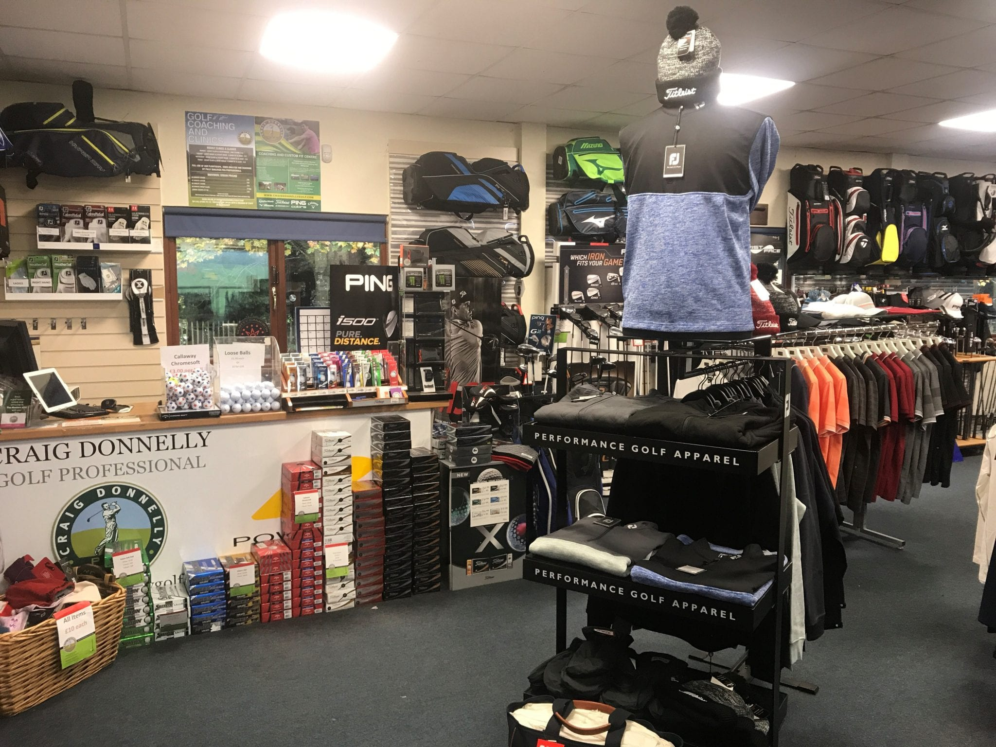 On-site Pro shop